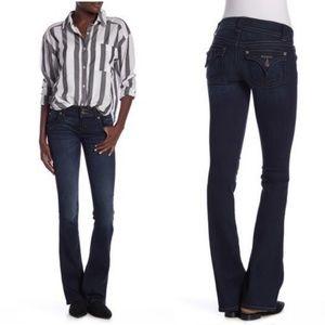 Hudson Dark Wash Signature Bootcut Jeans